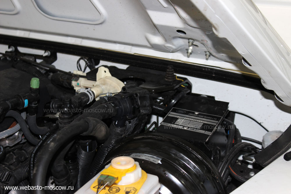 Установка Webasto на Land Rover Defender дизель