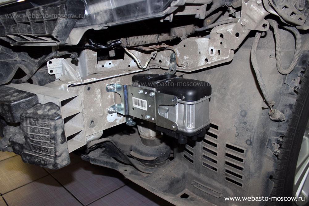 Установка Webasto на Lexus RX270 2.7 бензин