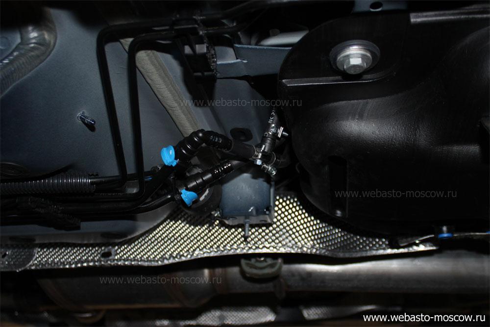 Дизельный подогреватель двигателя